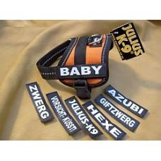 Labels for Julius K9 Harness