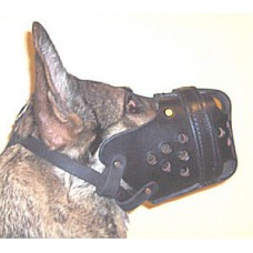 Leather Agitation Muzzle