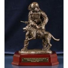 Special Forces K9 Handler - Bronze