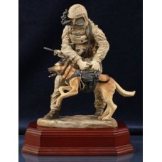 Special Forces K9 Handler - Painted